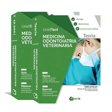 libri test medicina libri test di medicina odontoiatria e veterinaria box