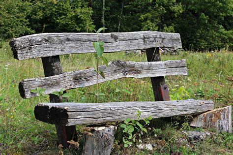 old wood bench illusions of serenity conclusion debbiecroft