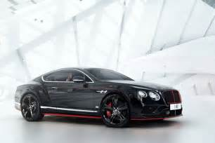 Bentley For Bentley Continental Gt Black Speed Special Edition