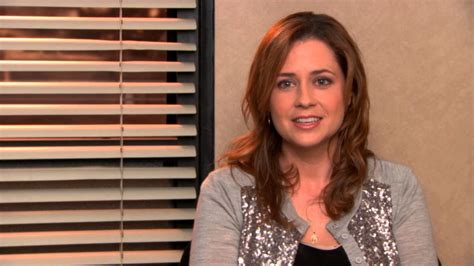 finale of the office pam says some great advice