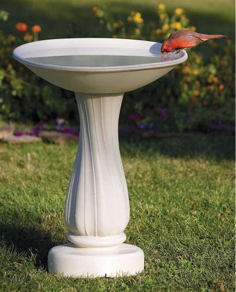 duncraft com all seasons heated bird bath