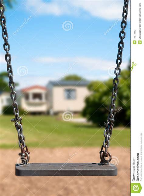 swing holidays playground swing stock photography image 14973812