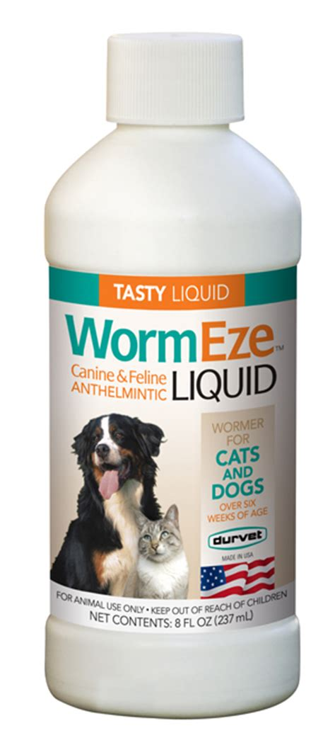 liquid dewormer for dogs wormeze d worm piperazine liquid wormer for dogs and cats