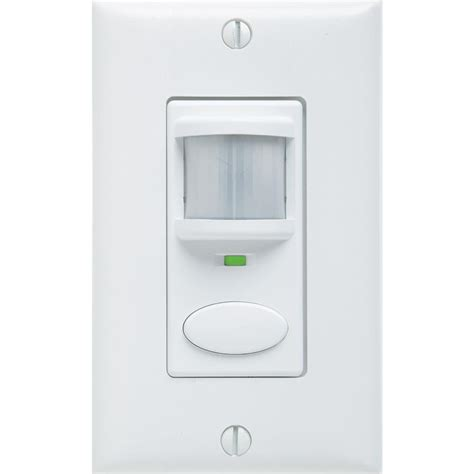 Sensor Light Switch by Lithonia Lighting Decorator Vacancy Motion Sensing Self