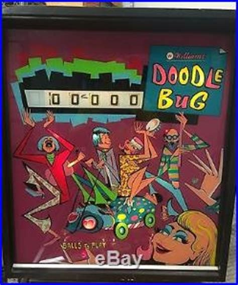 williams doodlebug pinball machines 187 archive 187 williams doodle bug 1