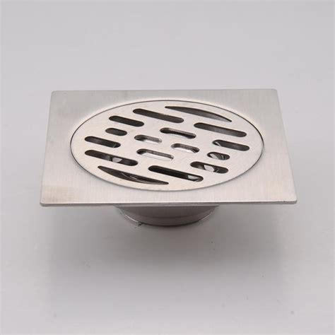 bathroom floor drain stainless steel square waste floor drain cover kitchen