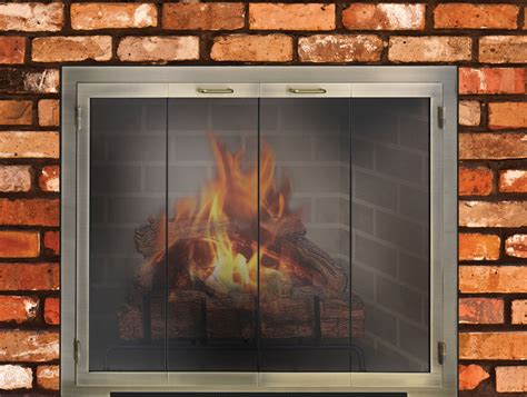 Custom Legend Door Masonry Fireplace Design Specialties Masonry Fireplace Glass Doors