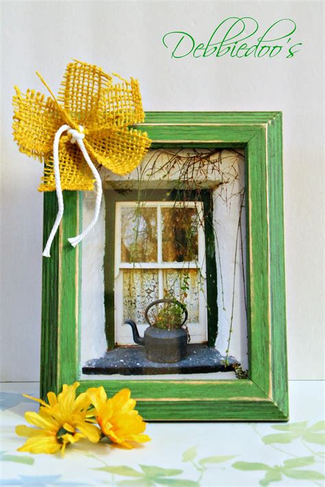 diy chalk paint debbie a diy picture frame makeover and a thoughtful gift idea