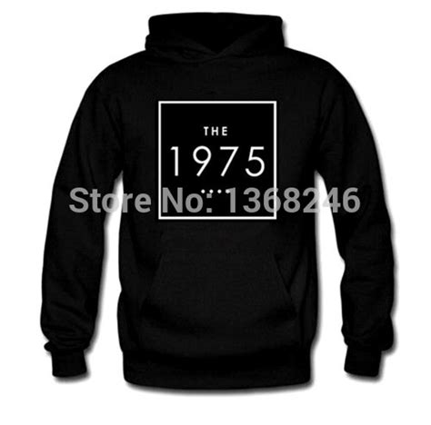 Sweater The 1975 Hoodie the 1975 hoodies black sport pullover sweatshirts and hoodie in hoodies sweatshirts from