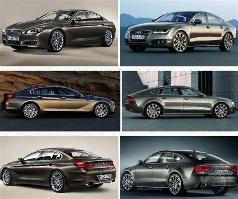 audi a7 vs bmw 5 series car wars audi a7 vs bmw 6 series gran coupe