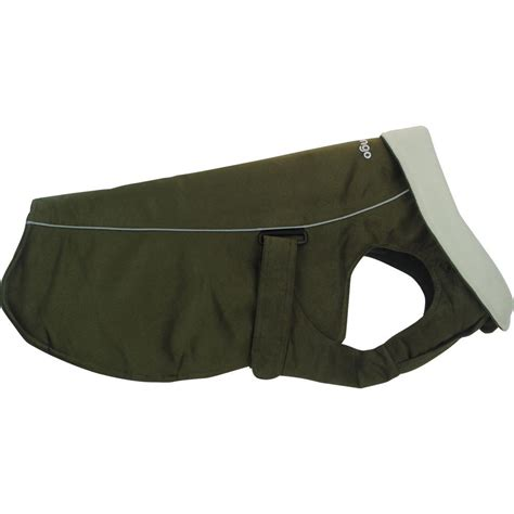olive for dogs dingo fit warm coat for dogs olive green puplife supplies