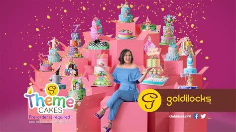 goldilocks themes goldilocks theme cakes tvc youtube