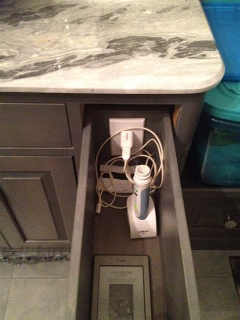 electrical outlets inside cabinets