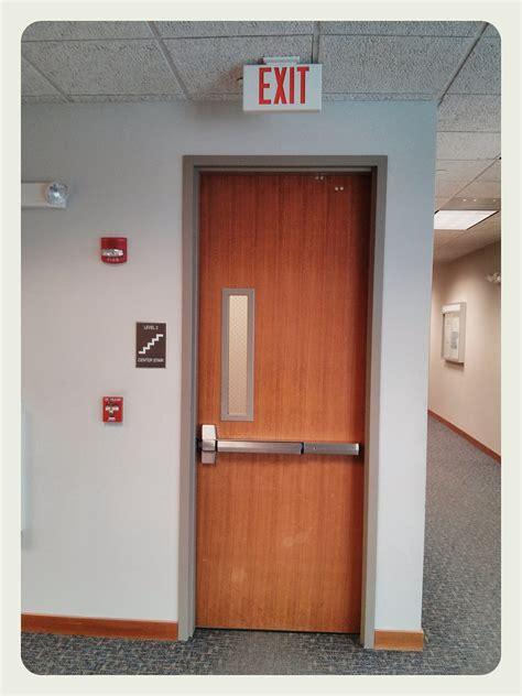 Exit Doors the exit door