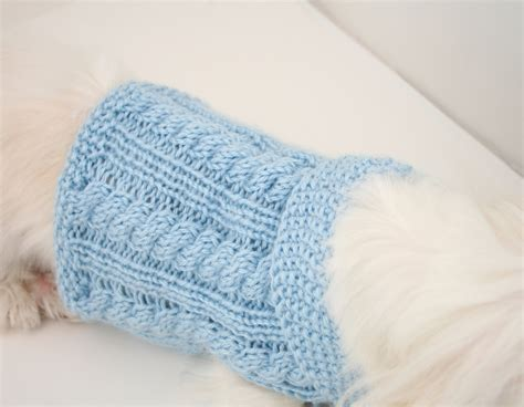 patterns for knitting dog sweaters with cables knit dog sweater pattern cabled dog sweater