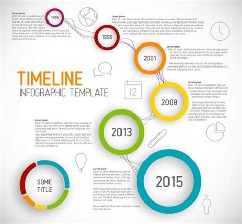 Free Creative Business Timeline Infographic Template Vector 187 Titanui Caught My Eye Free Infographic Templates For Students