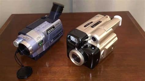 cassette videocamera cassette based camcorder vs sony digital 8 handycam