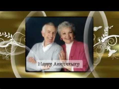 Wedding Anniversary Songs For Slideshow by 50th Anniversary Slideshow Sle Reflectvideos