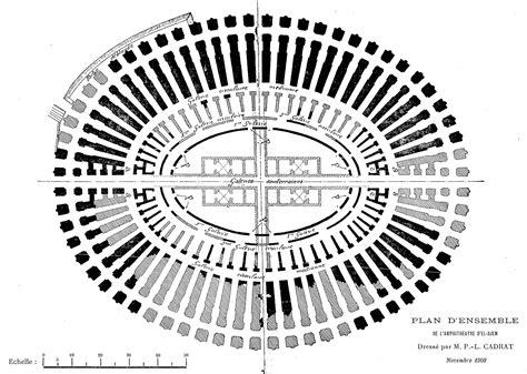 hitheater floor plan plan of amphitheatre