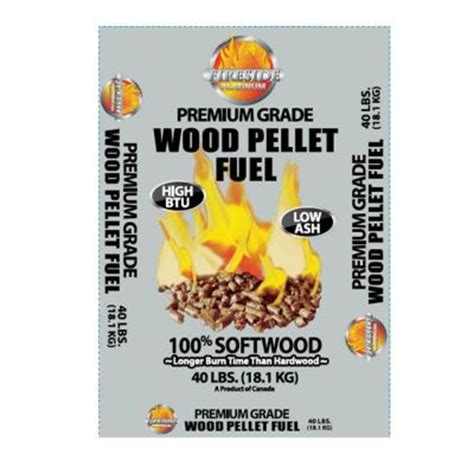 fireside platinum premium wood pellet fuel 40 lb bag 50