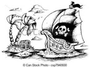 clip arte vetorial desenho pirata navio 1 vetorial ilustra 231 227 csp7940930 pesquisar