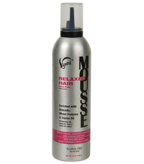 Shoo Shiseido Professional hair styling products ebay vigorol relaxed hair mousse