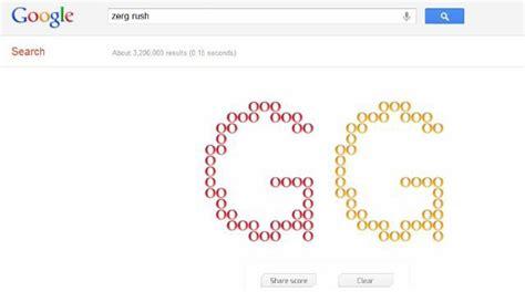 google imagenes zerg rush type zerg rush into google for a pleasant surprise