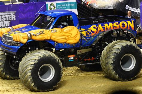 monster truck jam greensboro samson monster truck greensboro monster jam 2014