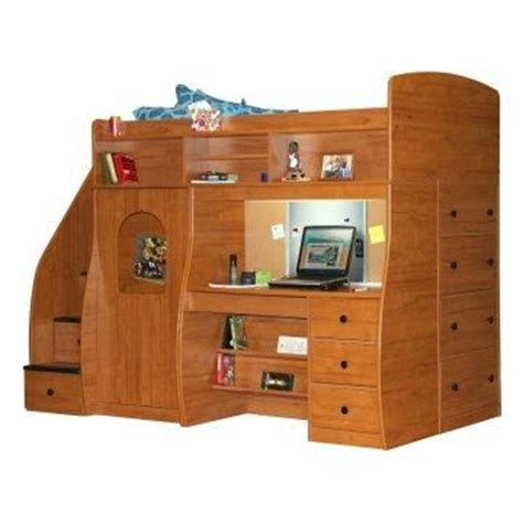 Bed Desk Dresser Combo Decor Pinterest Posts Bed And Desk Combo For
