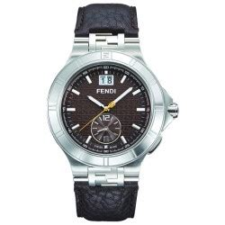 Dual Time Zip Code By Fendi by Fendi High Speed Dual Time Mens F478120