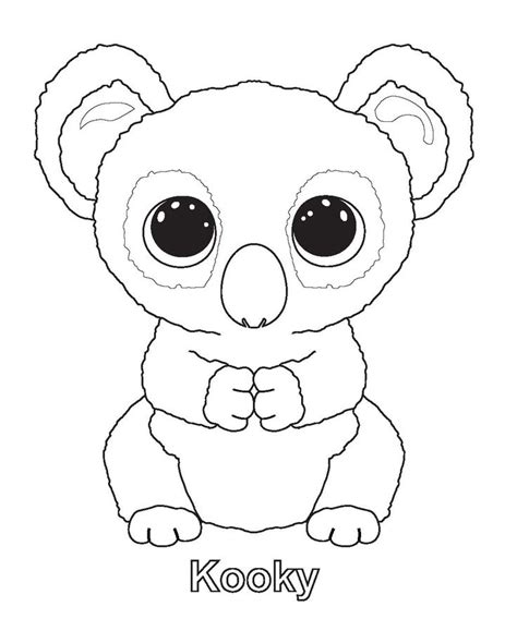 beanie babies coloring page pin by deepika chetal on sanaas coloring pinterest