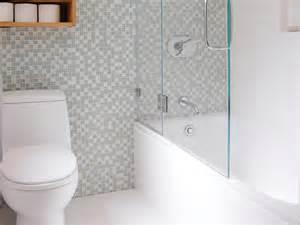 glass doors small bathroom: small space modern bathroom jennifer jones hgtv