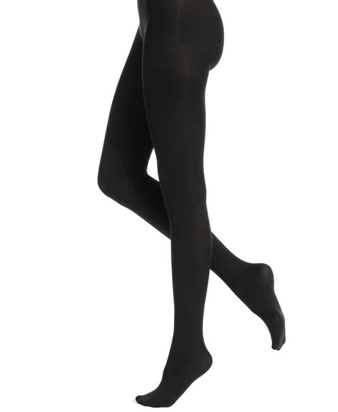 white tights black light hue opaque tights in black lyst