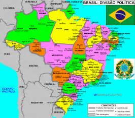 Map Of Brazil States by Political Brazil Map States