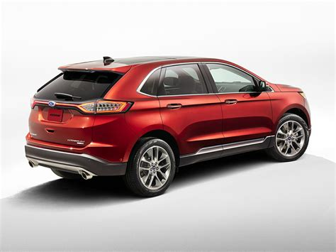 ford edge crossover 2015 ford edge price photos reviews features