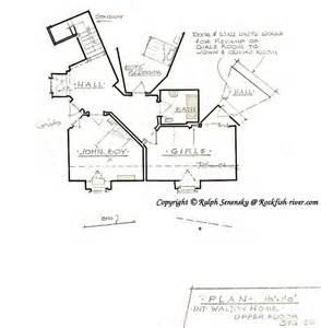 waltons house floor plan 2nd story goodnight john boy walton 4085 3 bedrooms and 3 5 baths the house designers