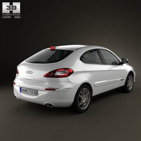 Chery Combi chery a3 j3 hatchback 5 door 2012 3d model for
