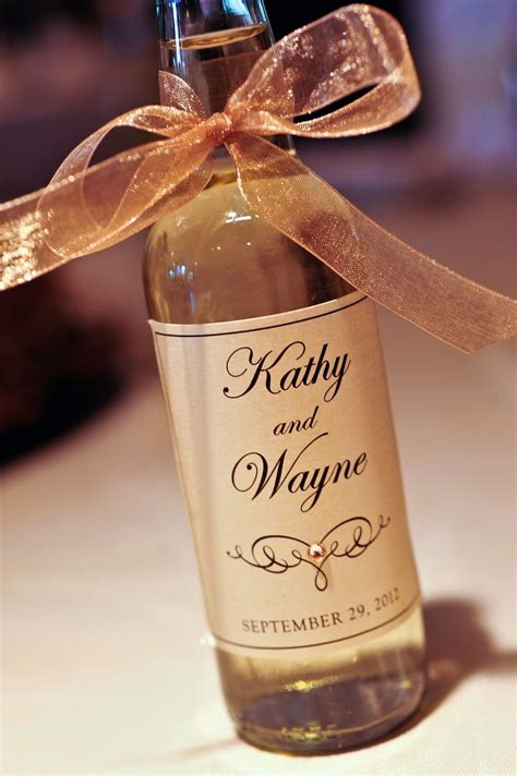 Wedding Favors Bottles by Mini Wine Bottle Labels Wedding Posted By Kindly R S V P