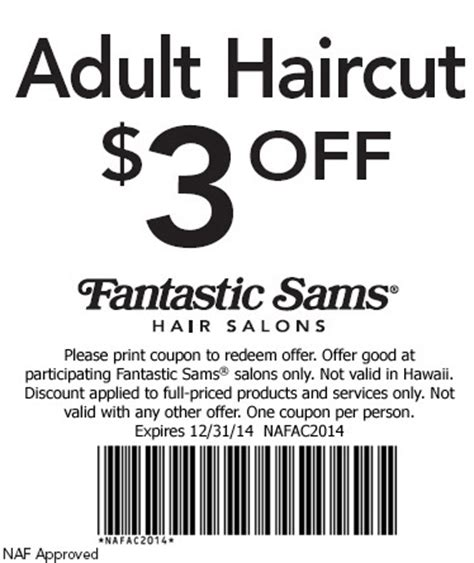 haircut coupons austin fantastic sams printable coupon car pictures car pictures