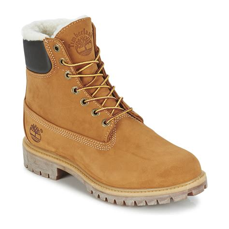 timberland boots with fur mid boots timberland 6 in premium fur warm lined boot