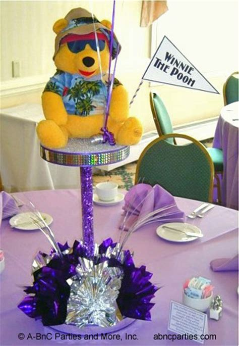winnie the pooh centerpiece ideas custom theme centerpiece decorations for and