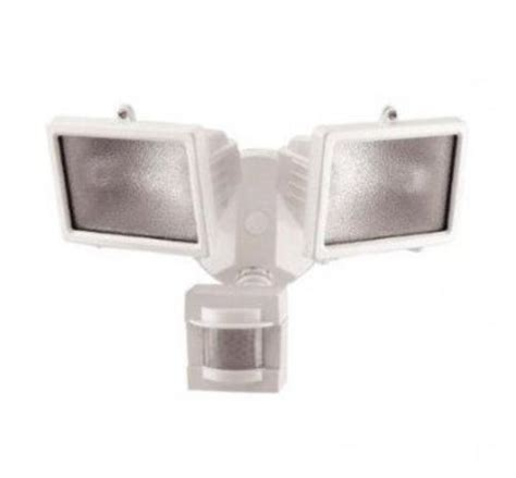 heath zenith 300 watt halogen motion activated security