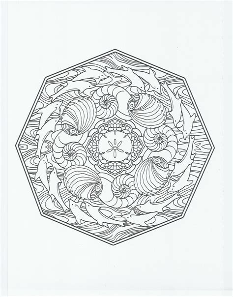 animal mandala dolphin coloring pages pinterest