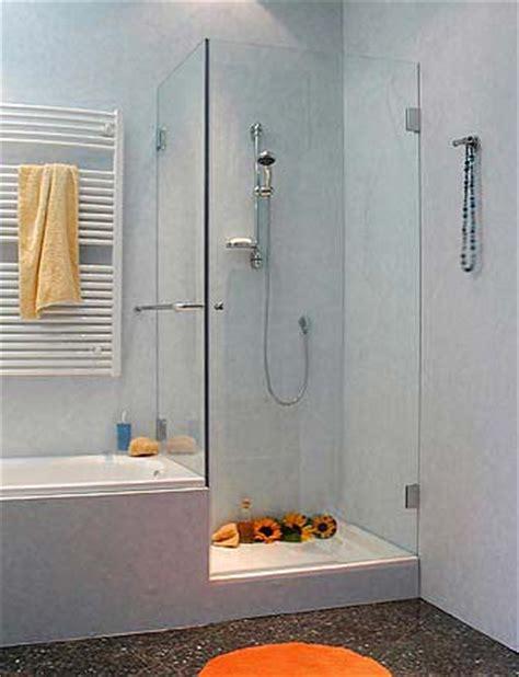 duschkabine für badewanne glas badewannen idee