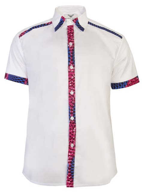 hoodie design south africa asante short sleeve african print shirt white nsubra