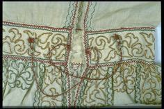 Nightshirt Beautyful Black Bbd046 Metropolitan leather gloves with silk metal thread embroidery enlish early 17th century museum of arts