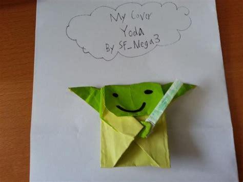Origami Cover Yoda - origami yoda cover yoda comot