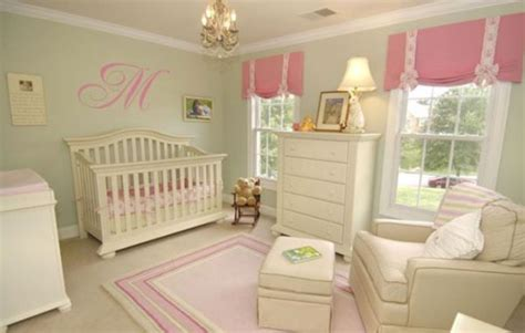 pink and green baby room modern nursery design tips