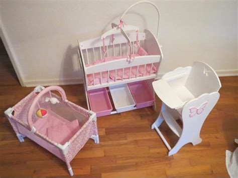 Baby Doll Stroller Crib And Highchair by Baby Doll Crib Stroller Playpen Highchair Diaperbag
