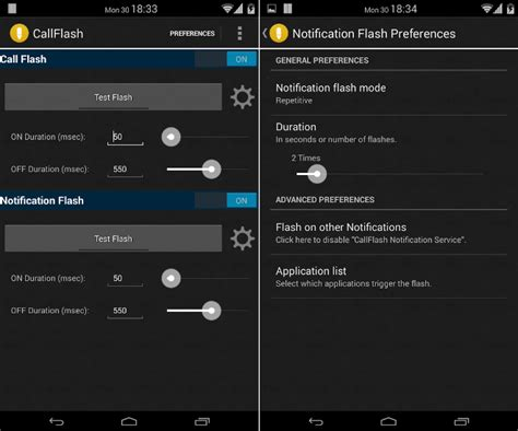 flash on android how to turn on flash notification on android for calls and texts